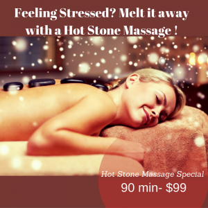 Hot Stone Massage Promotion